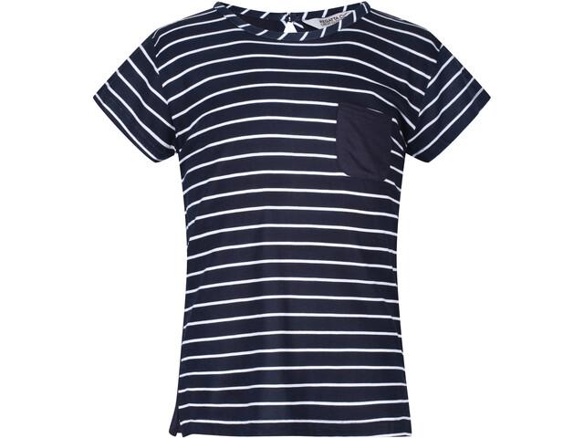 Regatta Charabee T-Shirt Kids navy/white stripe